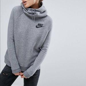 Nike Sportswear Rally Funnel Neck Sweatshirt SMALL